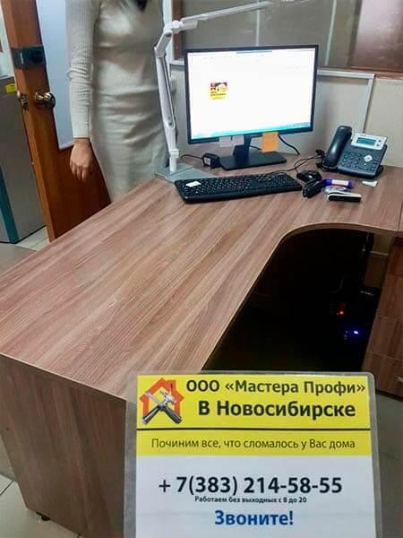 Сборка письменного стола
