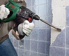 Демонтаж плитки со стен цена