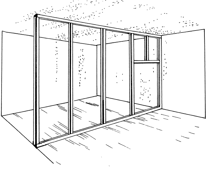 Монтаж перегородок в новосибирске
