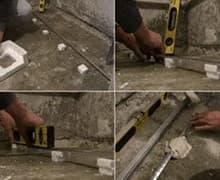 Подготовка пола, стен к укладке керамогранита цена
