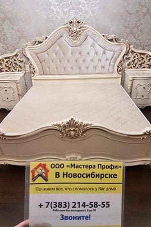 Услуга Сборка кровати