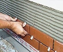 Укладка клинкерной плитки на фасад цена