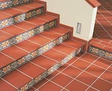 укладка клинкерной плитки на лестницу цена