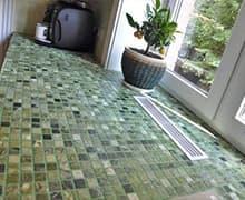 Укладка мозаики на столешницу цена